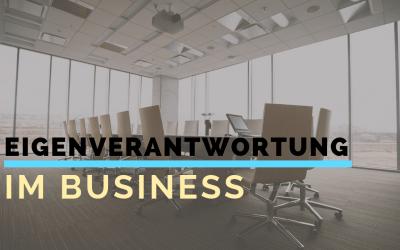 Eigenverantwortung im Business